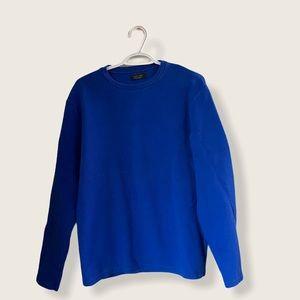 Zara Blue Crewneck Sweater XL
